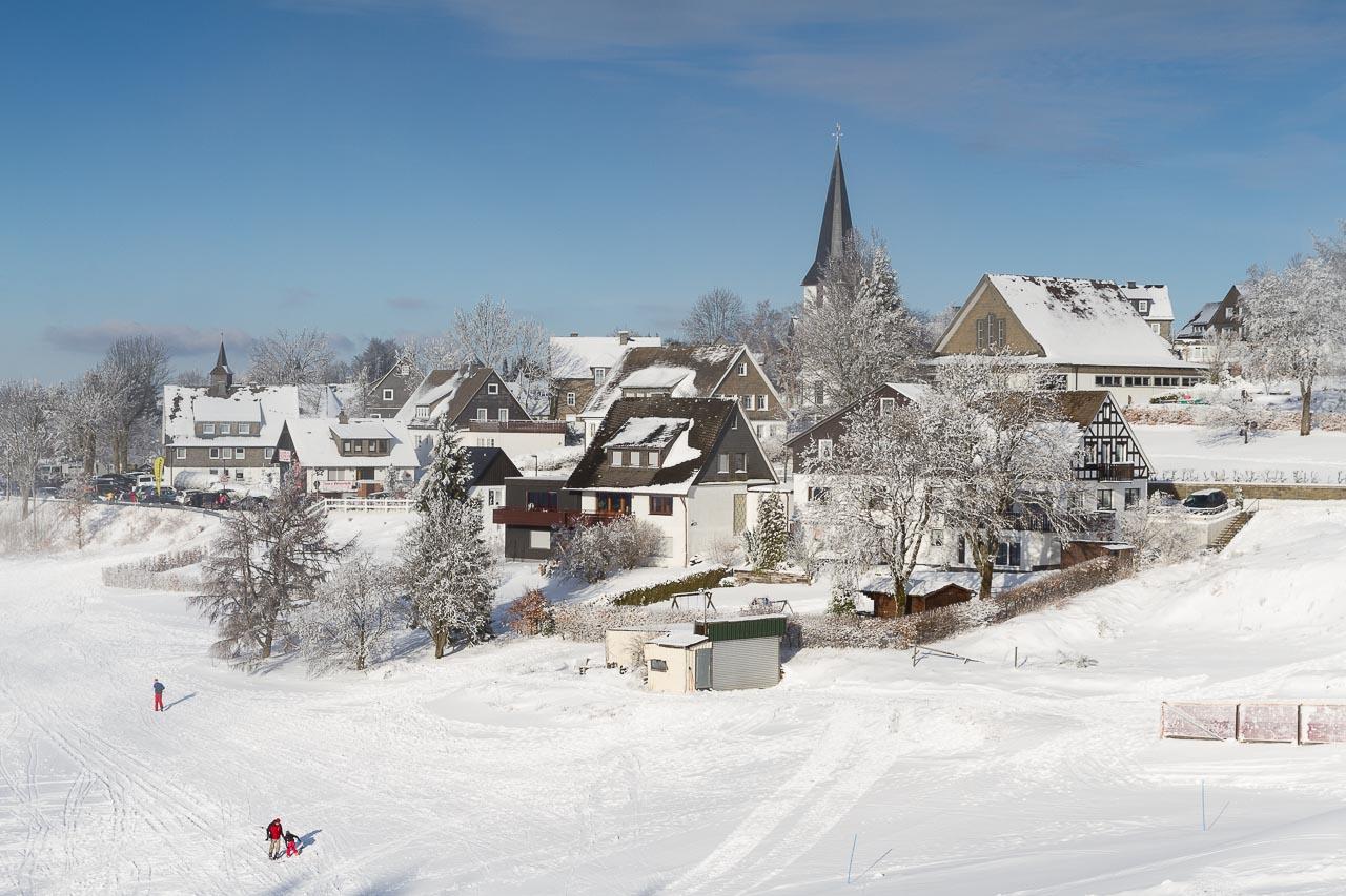 Altastenberg im Winter