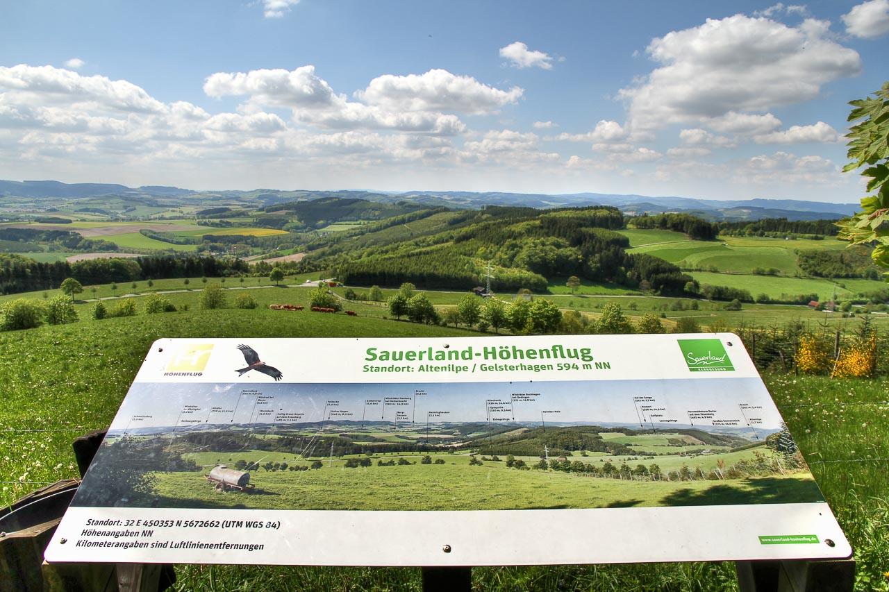Premiumwanderweg Sauerland Höhenflug